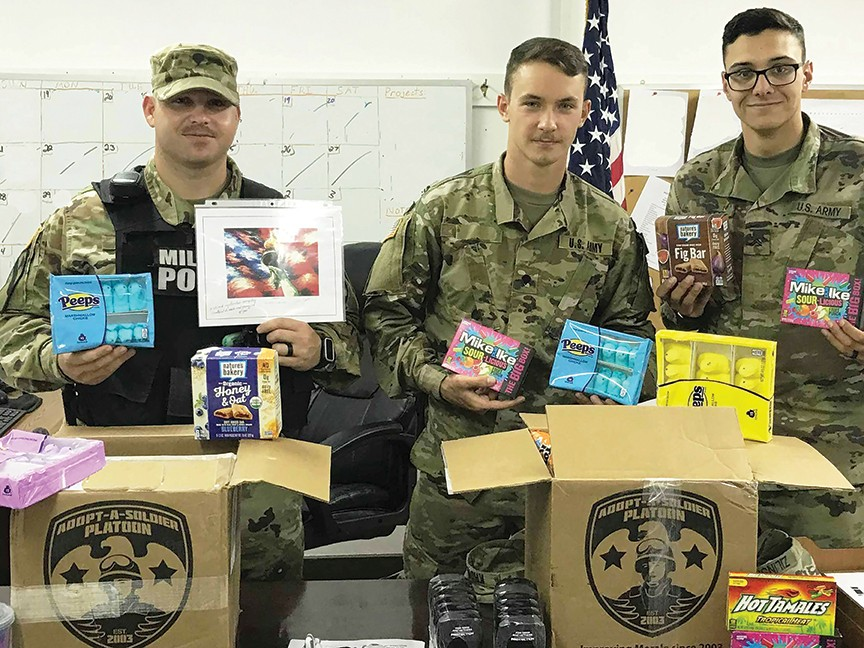 Adopt-A-Soldier Platoon Inc Impact