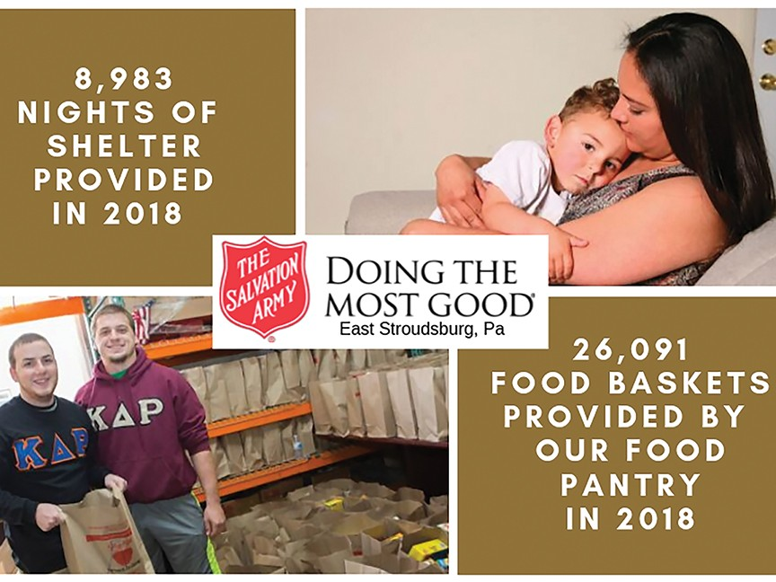 The Salvation Army East Stroudsburg, PA Impact