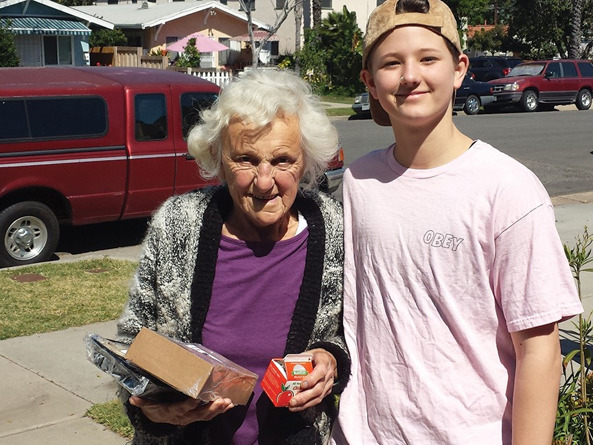 Meals on Wheels San Diego County Impact