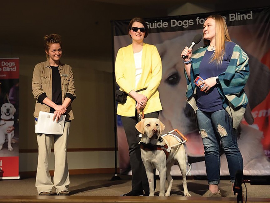 Guide Dogs for the Blind - Houston Puppy Raisers Impact