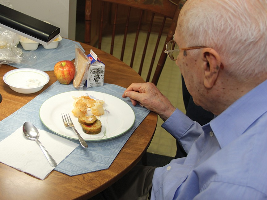 TVCCA Meals on Wheels Impact