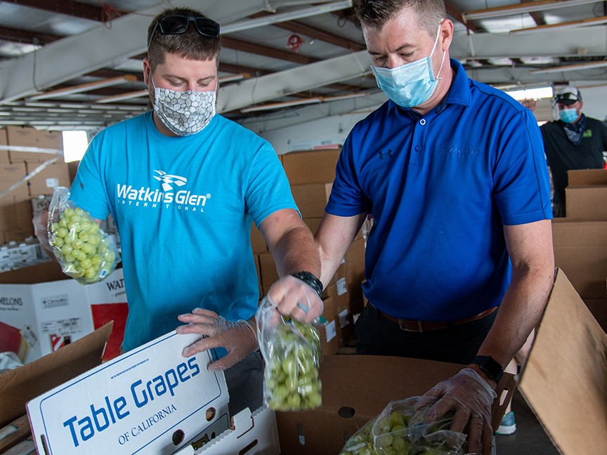 Catholic Charities Food Bank of the Southern Tier Impact